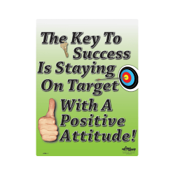 Key to Success is Attitude… Poster