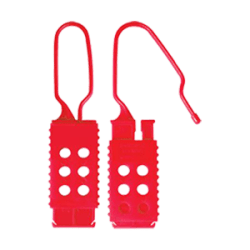 Plastic Non-Conductive Hasp (up to 6 locks)
