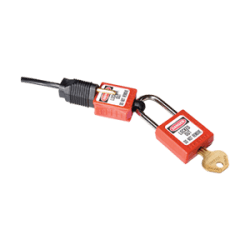 Electrical Plug Blade Lockout