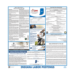 Indiana Labor Law Poster
