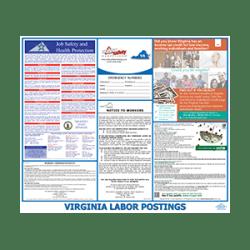 Virginia Labor Law Poster