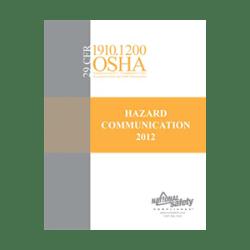 OSHA Hazard Communication Standard 2012