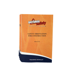 Safety Orientation for Construction Training Booklets (pkg of 10)