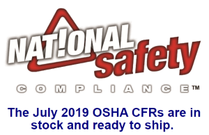 Updated July 2019 OSHA CFRs