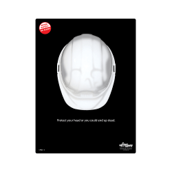 Protect Your Head Safety Poster