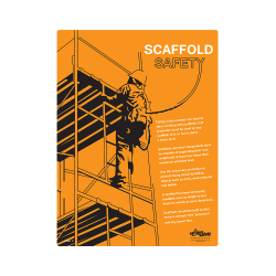 Scaffold Safety Informational Safety Poster