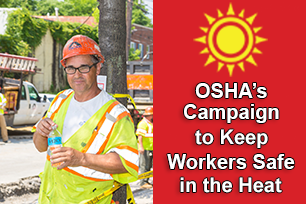 Water Rest Shade Osha S Campaign To Keep Workers Safe In