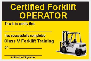 21 Luxury Forklift Certification Online