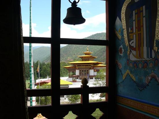 Interior Punakha dzong