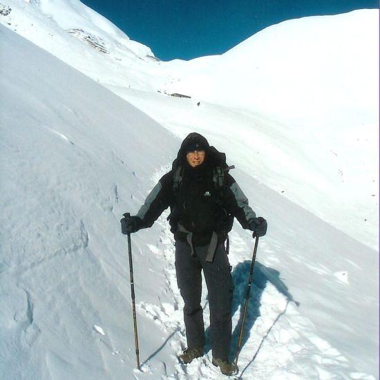 2004 Oct Trekking Anapurna Himalayas Nepal - the long walk to Pune