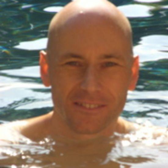 2006 Feb Ankur in pool at Pune