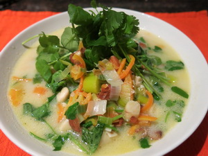 Watercress and Carrot Soup