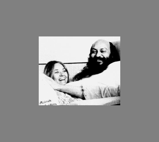 Osho and Veena - Bombay 1973