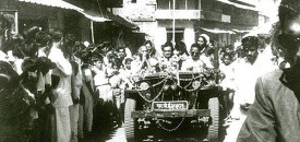 Osho Driving in India