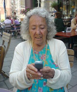 Jeevan texting