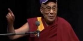 Dalai Lama Delivers Humorous Speech