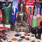 Mandala Painting with Gaby