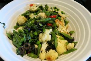 Cauliflower dish