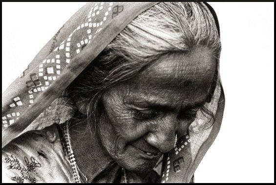 Zura Village Woman 2, Kutch