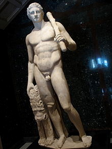 In Greek mythology Heracles is synonymous with masculinity