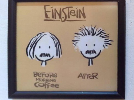 Einstein before and after