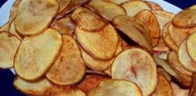 Home-made Potato Chips