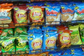 Potato Chips Packages
