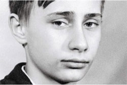 Vladimi Putin as young