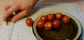 How to Cut Tomatoes Like a Ninja