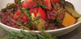 Stew with Thyme and Millet