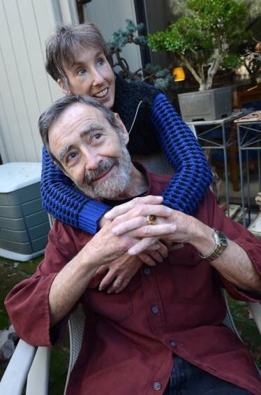 Leonard with Hilary
