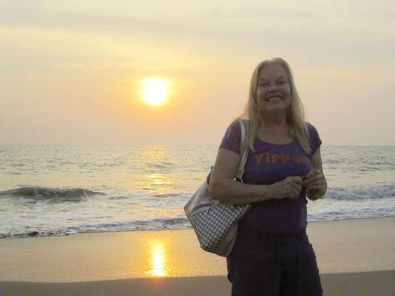 Leela-sunset