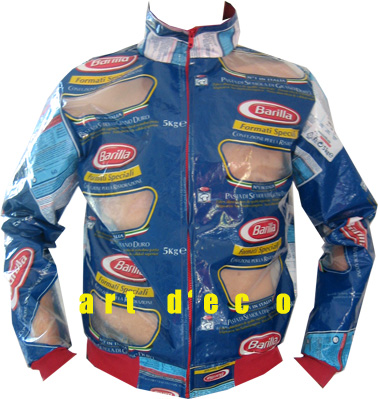 Jacket from Barilla packaging