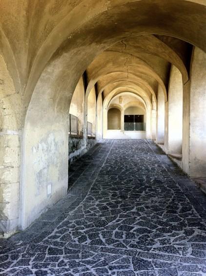 The moorish atmosphere of Castel Sant'Elmo