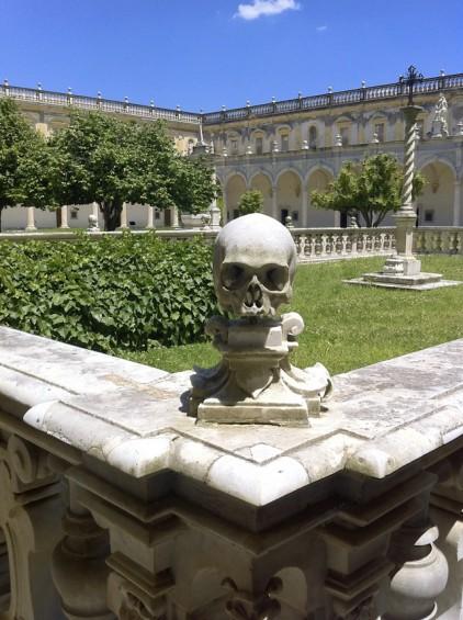 Skull - Certosa di San Martino