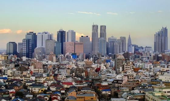 Skyscrapers Tokyo