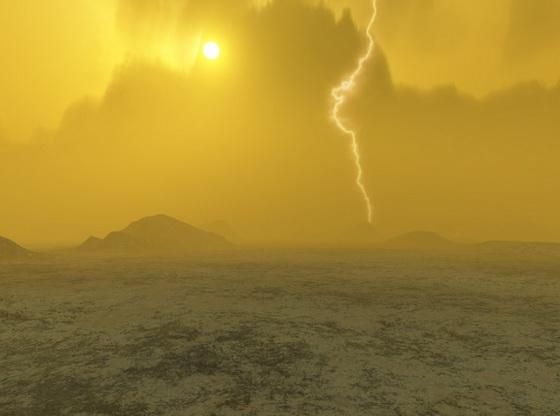 Lightning on Venus