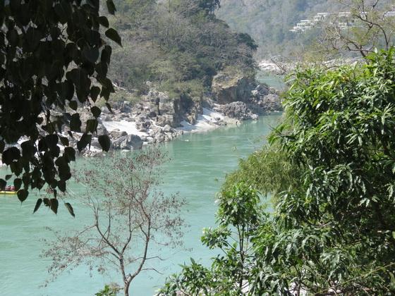 View from Osho Gangadham