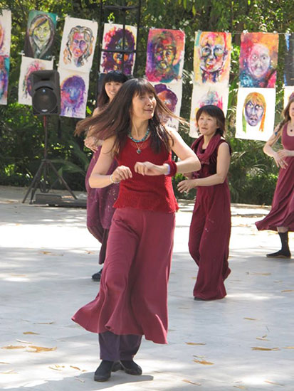 070 Meera-in-Buddha-Grove-cr-Anita-Anand
