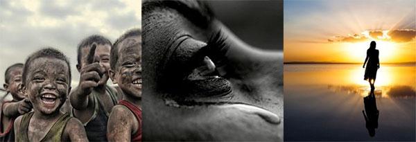 trinity: laughter, tears, silence