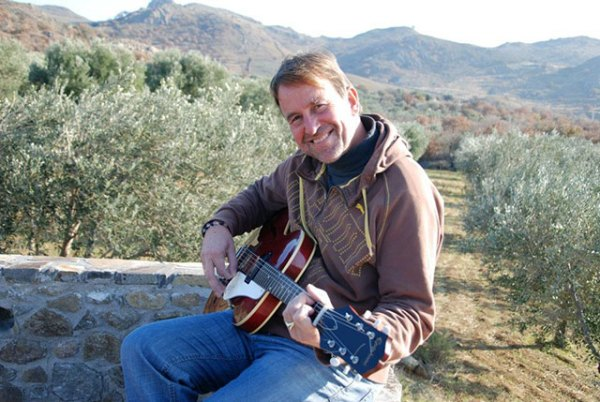 in the olive groves