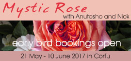 Mystic Rose in Corfu with Anutosho and Nick