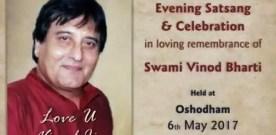 In loving remembrance of Vinod