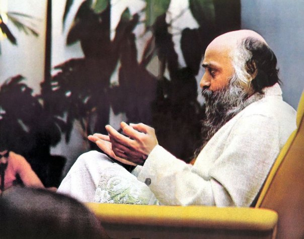 Osho in morning discourse