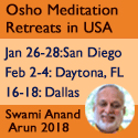 Meditation Retreats with Swami Anand Arun – Jan / Feb 2018