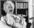 Mark Twain's words of wisdom…