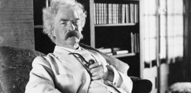 Mark Twain's words of wisdom…
