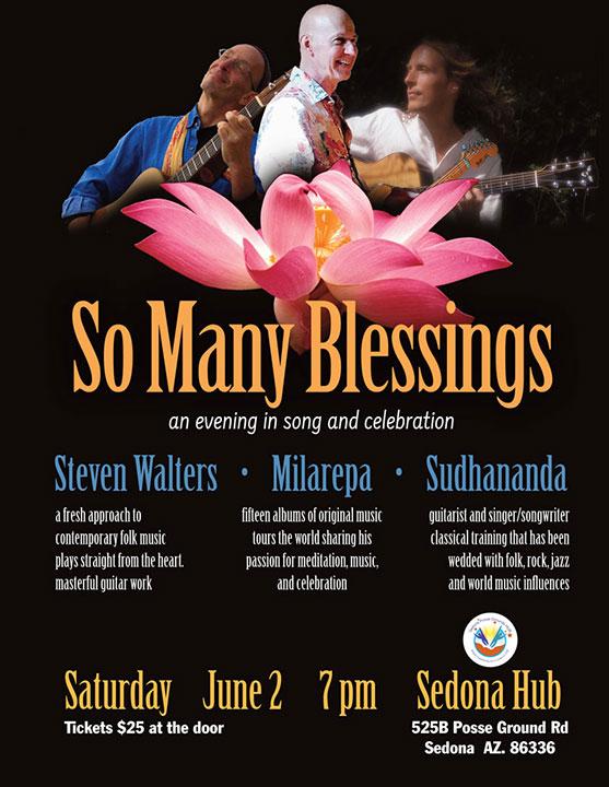 So Many Blessings, Sedona, June 2