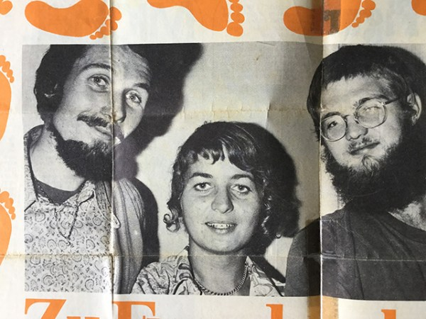Shivananda, Anne and Kevin, 1973
