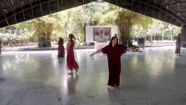 Asha whirling meditation